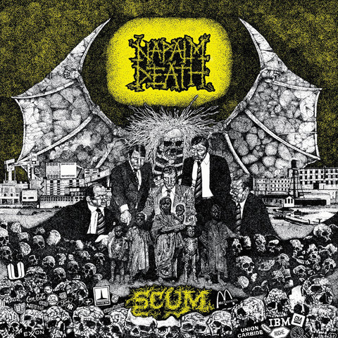 Napalm Death - Scum (CD, Ltd. Digipak, FDR Audio)