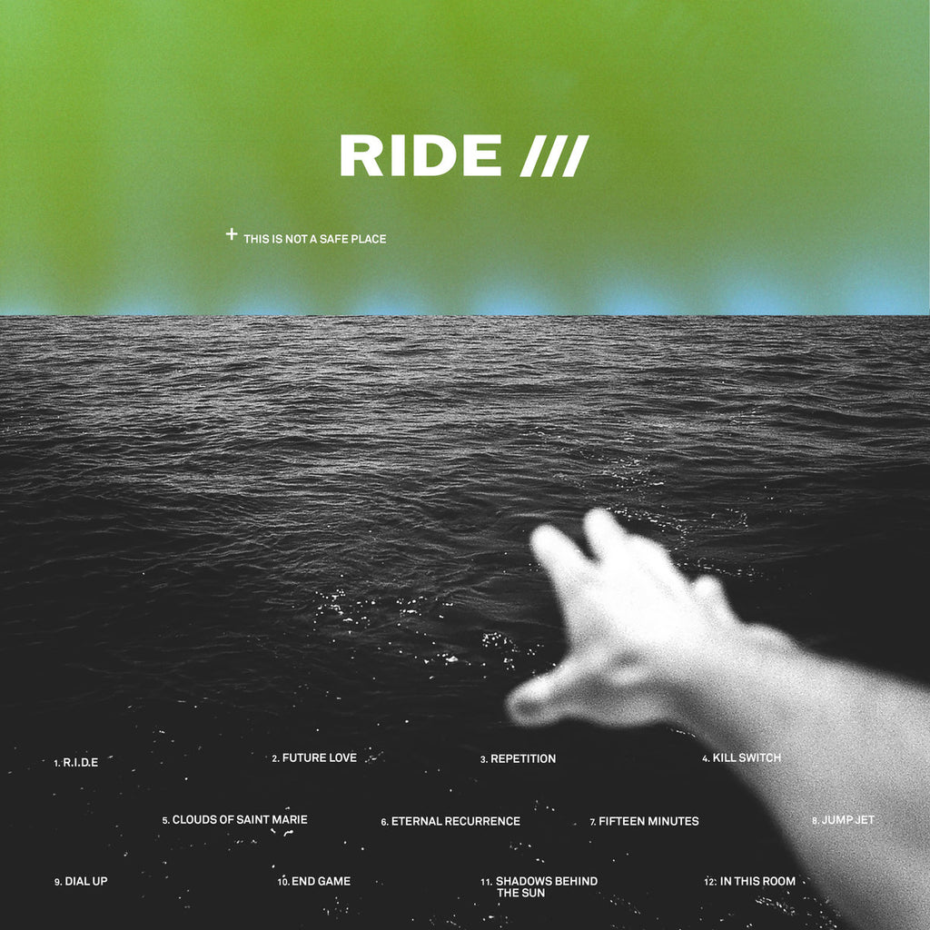 Ride - This Is Not A Safe Place (2xLP, green vinyl)