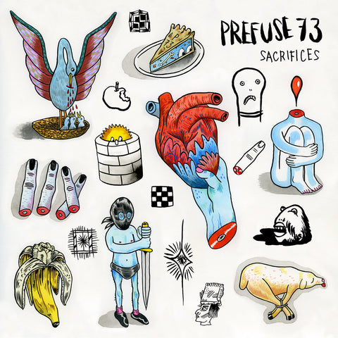 Prefuse 73 - Sacrifices (LP)