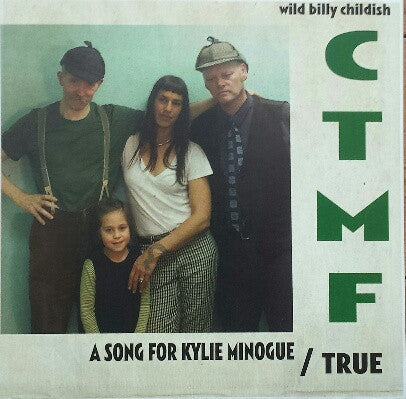 "Wild Billy Childish - A Song For Kylie Minogue 7"" (yellow vinyl)"