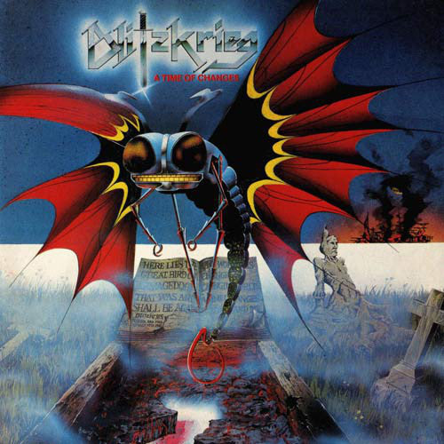 Blitzkrieg - A Time Of Changes LP