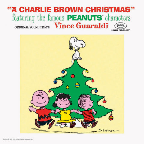 Vince Guaraldi Trio - A Charlie Brown Christmas (LP, lenticular sleeve)