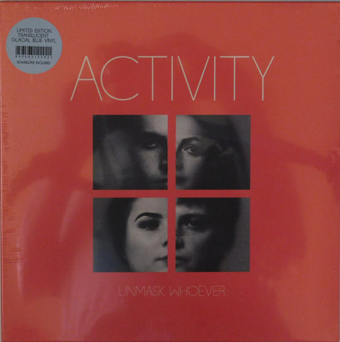 Activity - Unmask Whoever (LP, 'Glacial Blue' vinyl)