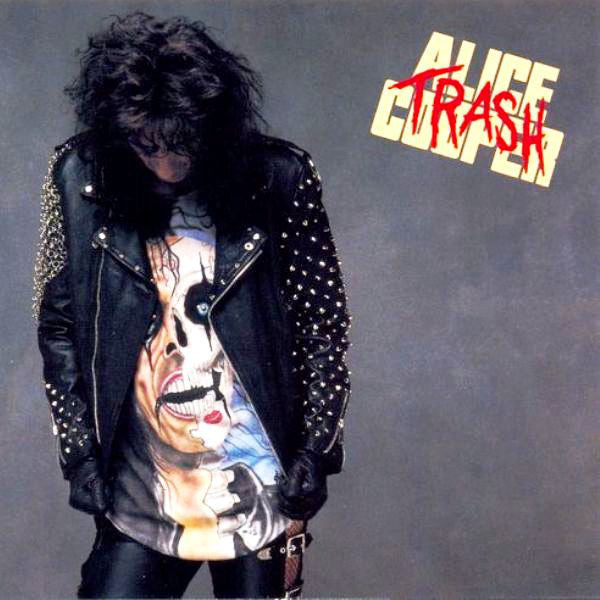 Alice Cooper - Trash (LP, silver and black marbled vinyl)