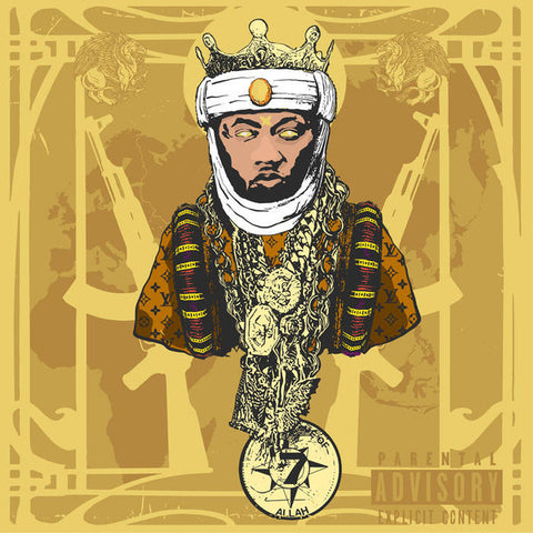 Planet Asia - A.G.E. (All Gold Everything) (LP)