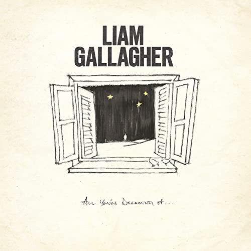 "Liam Gallagher - All You're Dreaming Of (12"", etched white vinyl)"