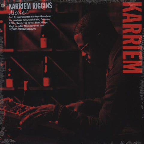 Karriem Riggins - Alone/ LP(inc DL code)