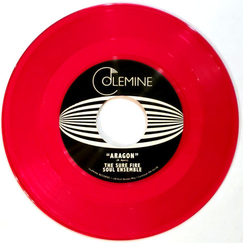 "Sure Fire Soul Ensemble - Aragon/El Niño (7"", clear red vinyl)"