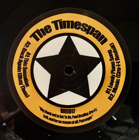 "The Timespan - As Predicted EP (12"")"