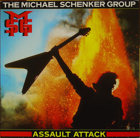 Michael Schenker Group - Assault Attack (LP)