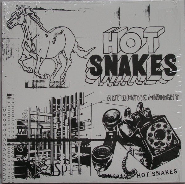 Hot Snakes - Automatic Midnight (LP, coloured vinyl)