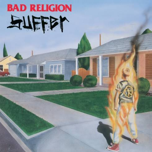 Bad Religion - Suffer (LP, Milky clear w/ red & orange splatter vinyl)