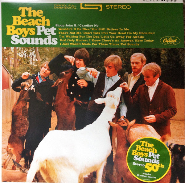 Beach Boys, The - Pet Sounds (Stereo LP)