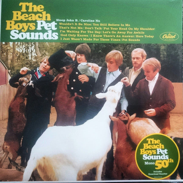 Beach Boys, The - Pet Sounds (Mono LP)