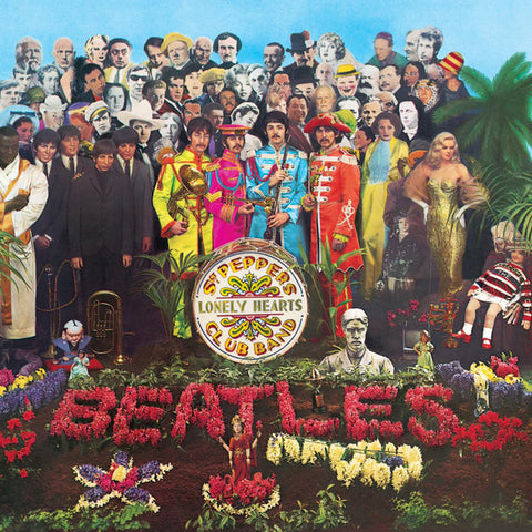 Beatles, The – Sgt. Pepper's Lonely Hearts Club Band (2017 1/2 speed 2xLP)