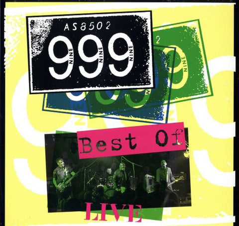 999 - Best Of Live (LP)