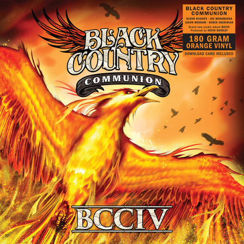 Black Country Communion ‎– BCCIV (Orange Vinyl 2xLP)