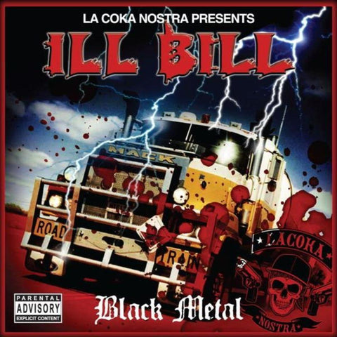 "La Coka Nostra Presents Ill Bill - Black Metal (2xLP smoke clear vinyl+clear 7"")"
