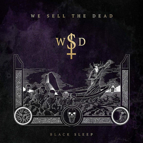 We Sell The Dead - Black Sleep (LP)