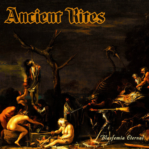 Ancient Rites - Blasfemia Eternal (LP, orange vinyl)