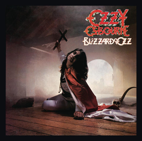 Ozzy Osbourne - Blizzard Of Ozz (LP, silver with red swirl vinyl)