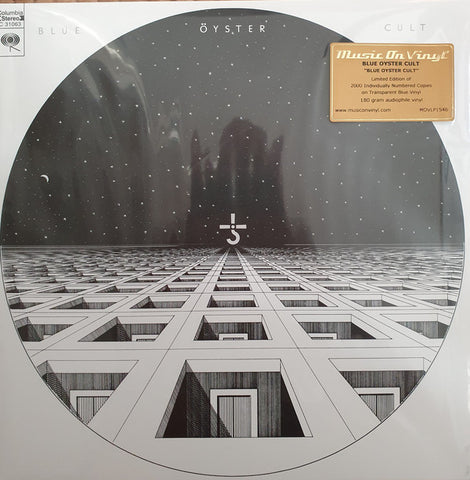 Blue Oyster Cult - s/t (LP, 180gm, Blue vinyl)