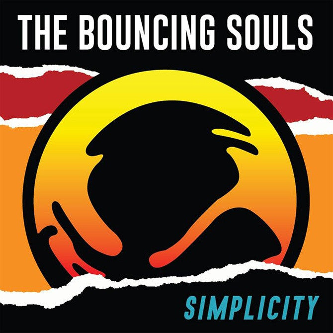 Bouncing Souls, The - Simplicity (LP, Clear + Orange Vinyl)