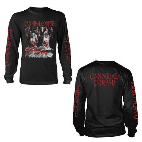 [Longsleeve T-Shirt] Cannibal Corpse - Butchered At Birth (Explicit)