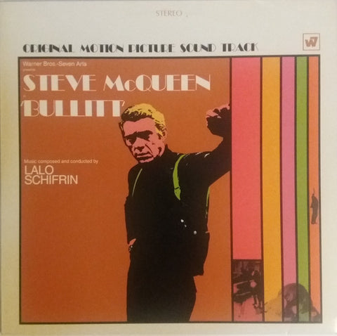 Lalo Schifrin - Bullitt (Music From The Motion Picture) (LP, Orange vinyl)