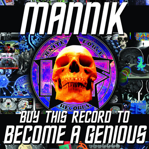 "Mannik - Buy This Record To Become A Genious (12"")"