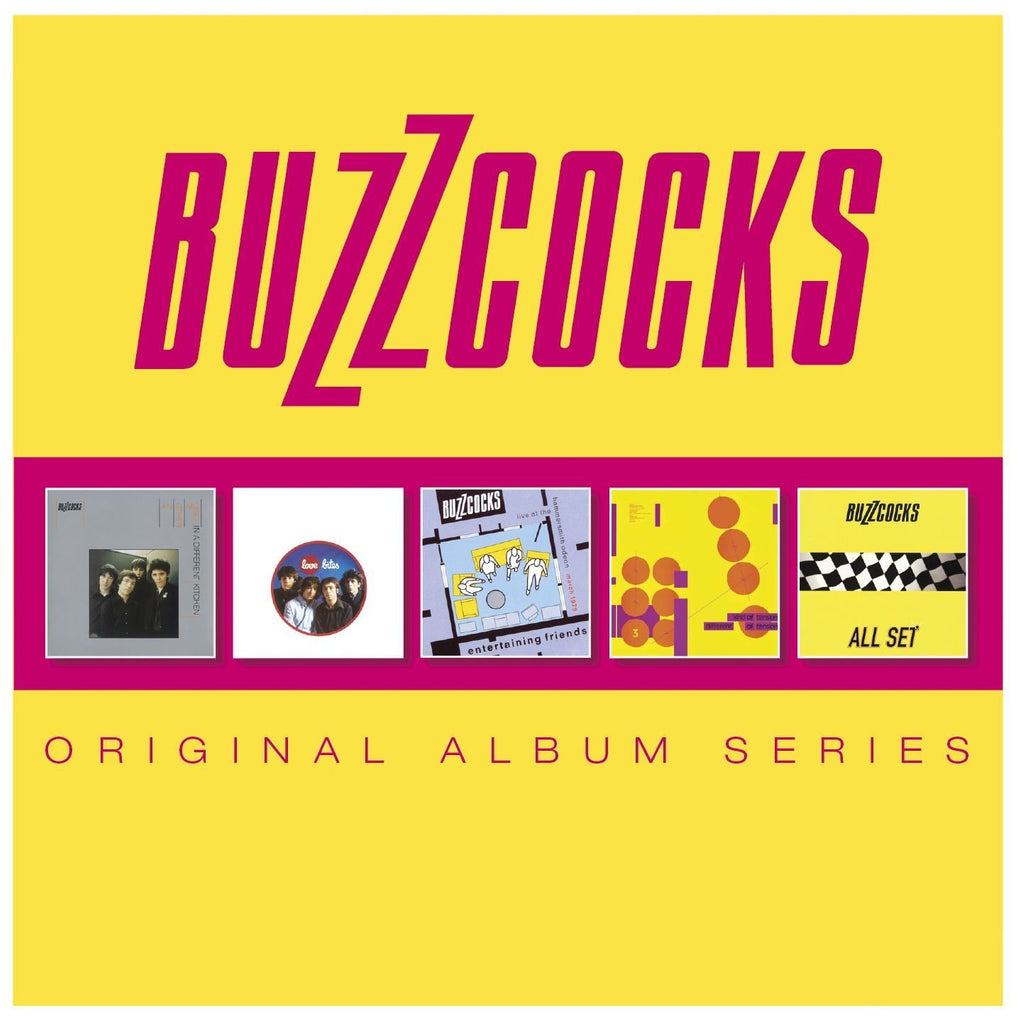 Buzzcocks, The - Original Album Series (5 CD Set)