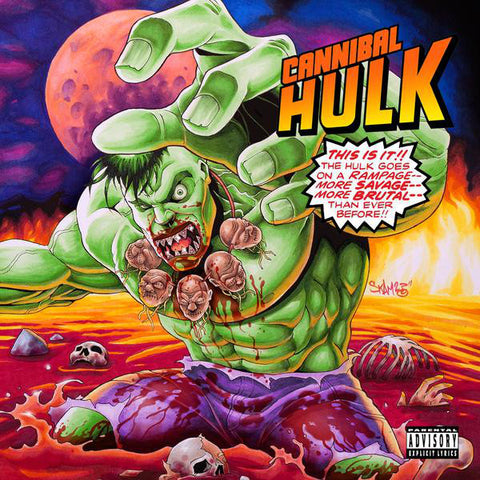 Ill Bill & Stu Bangas - Cannibal Hulk (LP, gamma ray green)