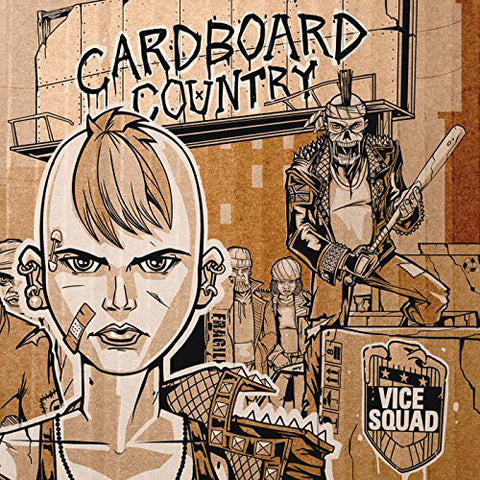 Vice Squad - Cardboard Country (LP, pink vinyl)