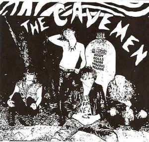 Cavemen - s/t (LP, 180g Blood Red vinyl)