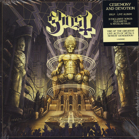 Ghost - Ceremony And Devotion (2xLP)
