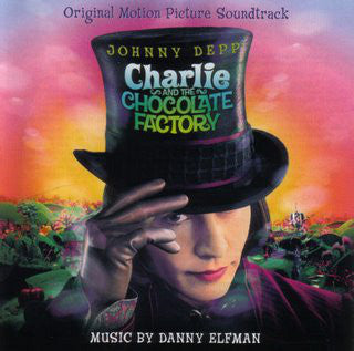 Danny Elfman - Charlie And The Chocolate Factory OST (LP, marble mint vinyl)