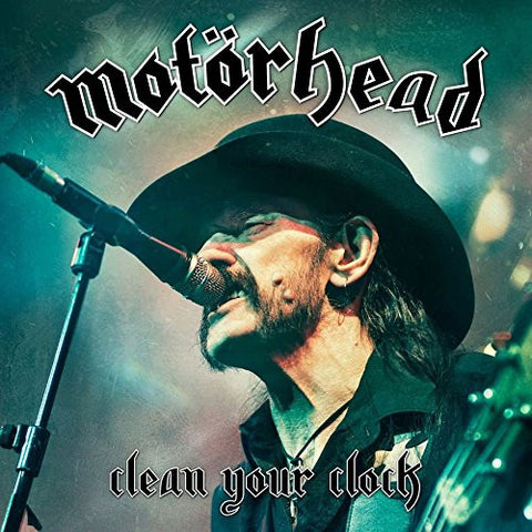 Motorhead - Clean Your Clock (LIVE) (2xLP, Grey Vinyl, Pop-Up Sleeve)