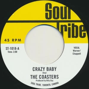 "Coasters, The /Innocent Bystanders, The - Crazy Baby b/w Frantic Escape (7"")"