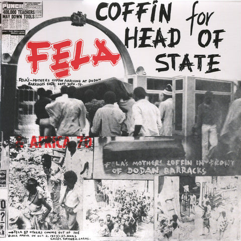 Fela Kuti & Afrika 70 - Coffin For Head Of State (LP)