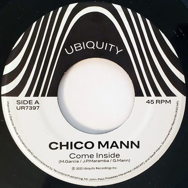 "Chico Mann - Come Inside/Sorrow Tears & Blood (7"")"