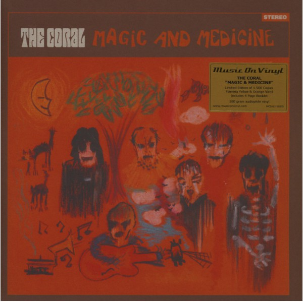 Coral, The - Medicine And Magic (Yellow/Orange Vinyl LP))