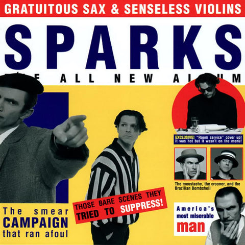 Sparks - Gratuitous Sax & Senseless Violins (LP, Remastered, Heavyweight Vinyl)