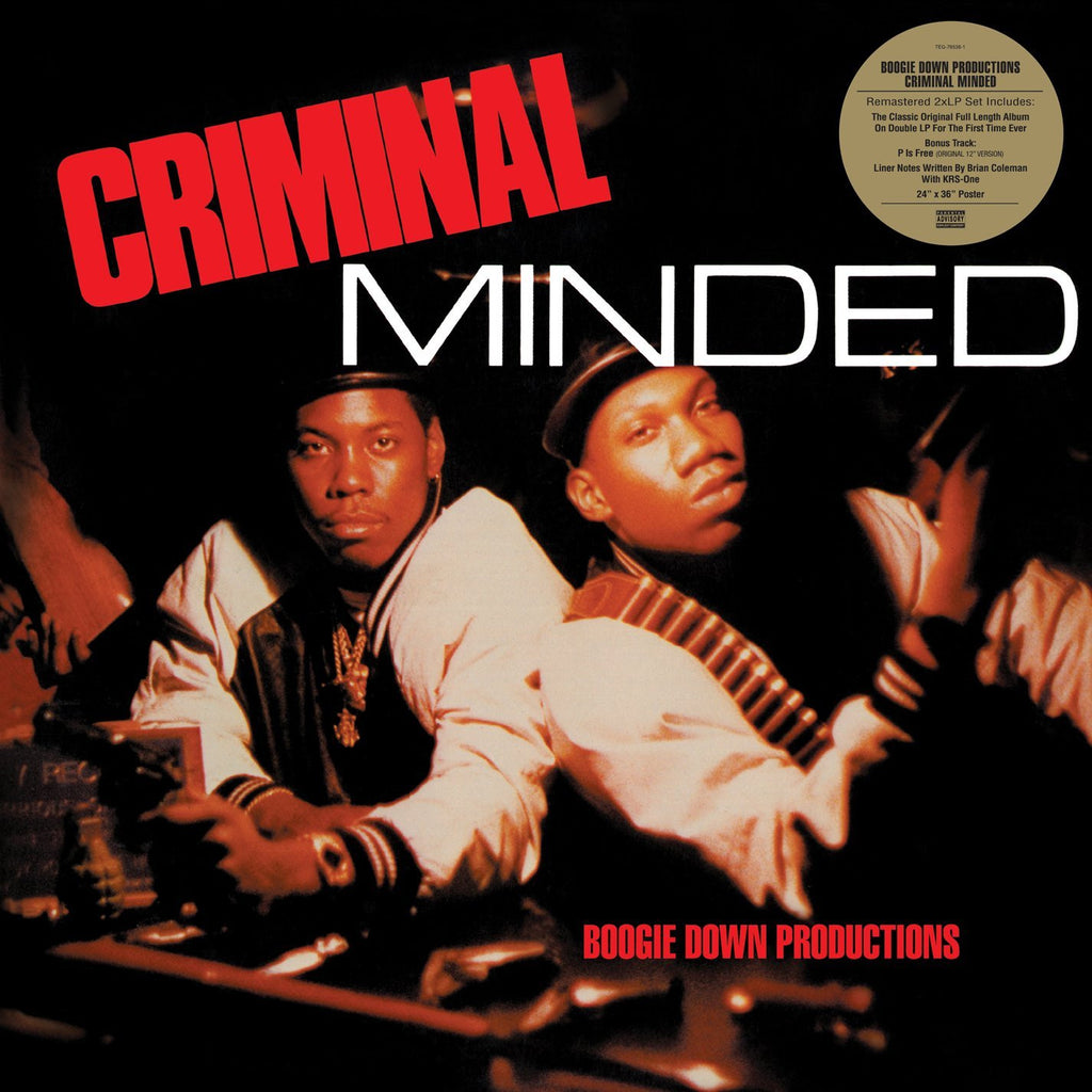 Boogie Down Productions - Criminal Minded (2xLP)