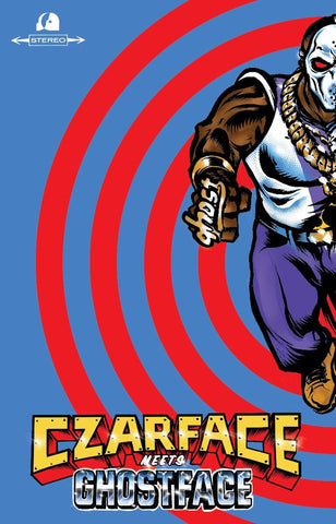 Czarface & Ghostface Killah - Czarface Meets Ghostface (cassette, clear blue)
