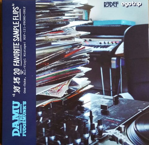 Damu The Fudgemunk - 10 15 20 Favorite Sample Flips (LP)