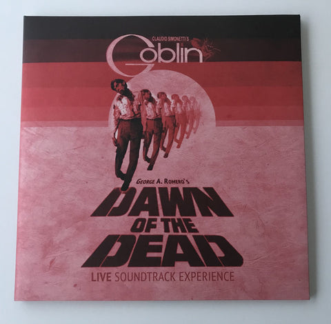 Claudio Simonetti's Goblin - Dawn of the Dead Live Soundtrack Experience (LP, transparent red vinyl)