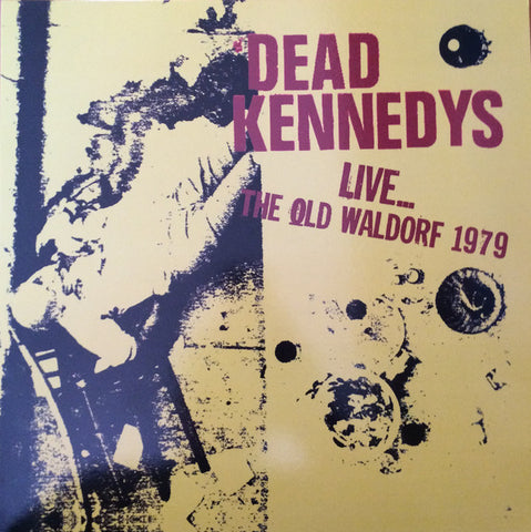 Dead Kennedys - Live... The Old Waldorf 1979 (Red Vinyl LP)