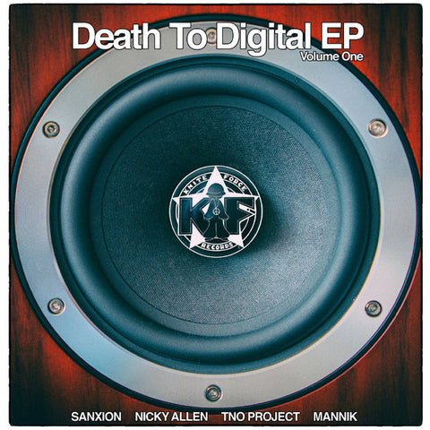 "Various - Death To Digital EP Volume One (12"")"