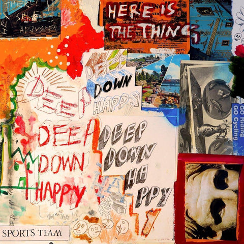Sports Team - Deep Down Happy (LP, orange transparent vinyl)