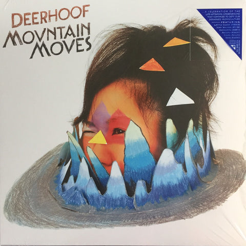 Deerhoof ‎– Mountain Moves (Blue Vinyl LP)
